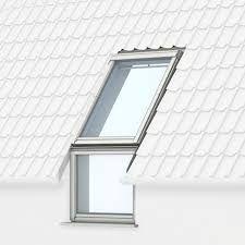 Strešné okno s priehľadným sklom